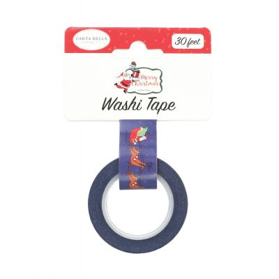 Carta Bella Merry Christmas Washi Tape - Dash Away
